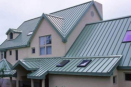 Standing Seam Metal Roof in Miami, FL.