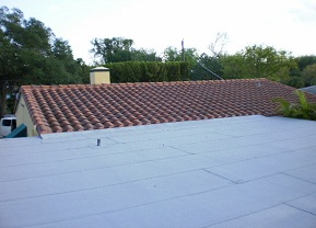 Insulated Flat Roof in Biscayne Park