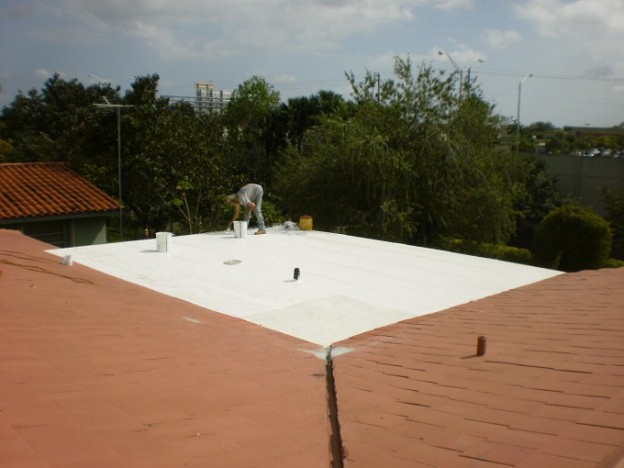 Roof Coating AND Roof Repair in Miami