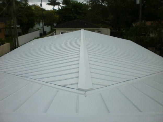 Metal Roofs In Miami