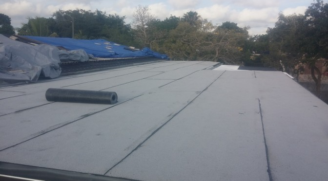 GAF Ruberoid Flat Roofing In Miami